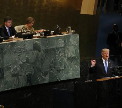 Na ONU, Trump ameaça destruir totalmente a Coreia do Norte