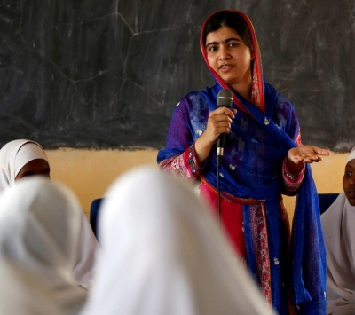 Malala estará em SP para debate sobre educação e papel das mulheres