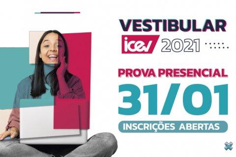 Vestibular iCEV 2021.1 presencial – Prova 31/01