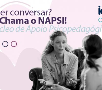 Estamos aqui para o que precisar! Já marcou sua orientação no NAPSI?