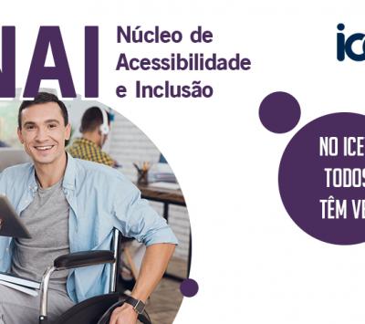 O iCEV é para todos e todas e o NAI está aqui para ajudar nisso!
