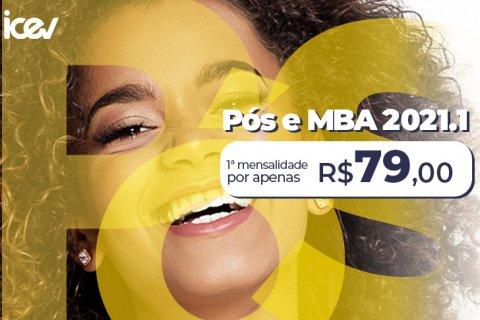 Pós-graduação e MBA iCEV com a primeira mensalidade por R$79. Inscreva-se!