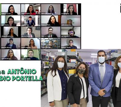 "Formatura da turma ""Antônio Cláudio Portella"" –  Direito 2021.1"