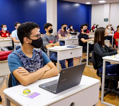 #Vamoquevamo 2021! As aulas começaram no melhor jeito iCEV de ser: com os melhores professores do Piauí!