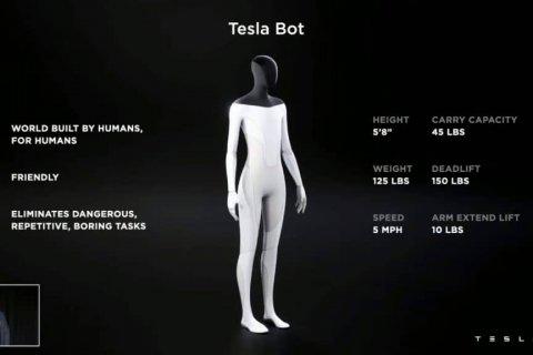 Tesla anuncia robô e ele é projetado para ser à prova de revolta das máquinas
