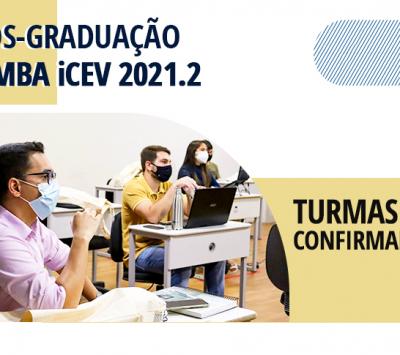 Pós-graduação e MBA iCEV –  Turmas confirmadas! Primeira mensalidade por R$79